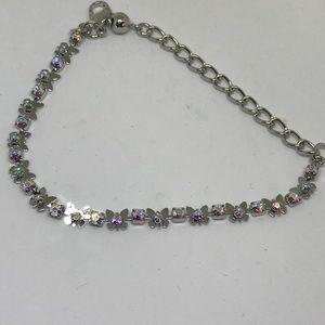 Swarovski Elements Jewelry - Beautiful Crystal Bracelet w Swarovski Elem [JW-3]